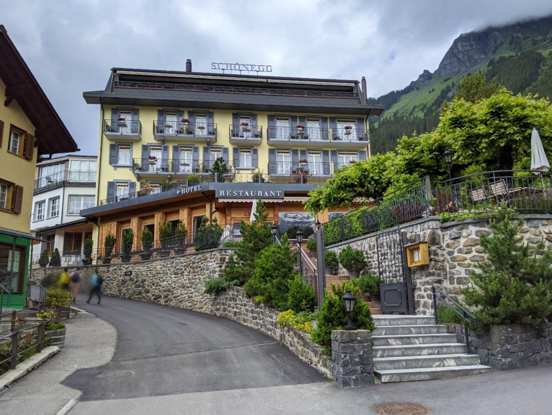 Hotel Schönegg in Wengen, Switzerland